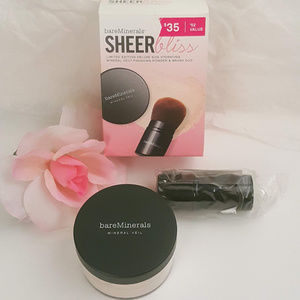 New Bareminerals Sheer Bliss Ltd Ed Deluxe Set
